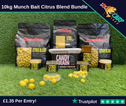 10kg Munch Bait Citrus Blend Bundle