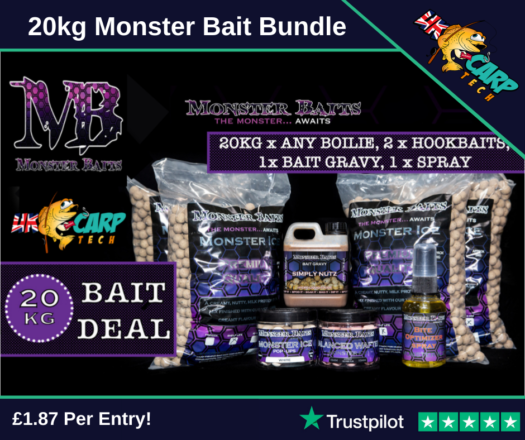 20kg Monster Bait Bundle