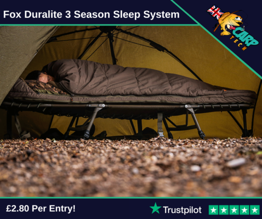 Fox Duralite 3 Season Sleep System