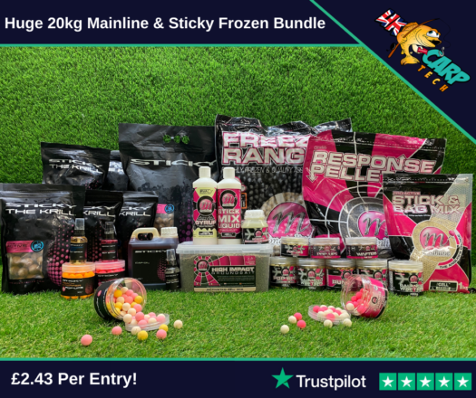 Huge 20kg Mainline & Sticky Frozen Bundle