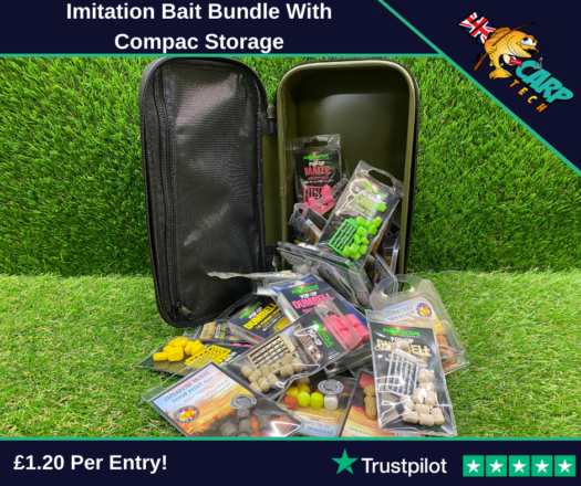 Imitation Bait Bundle With Compac Storage